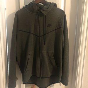 Nike men's zip up size XL